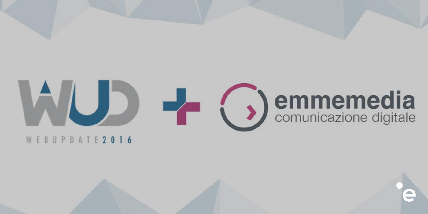 Emmemedia Media Partner del WebUpDate 2016 a Napoli